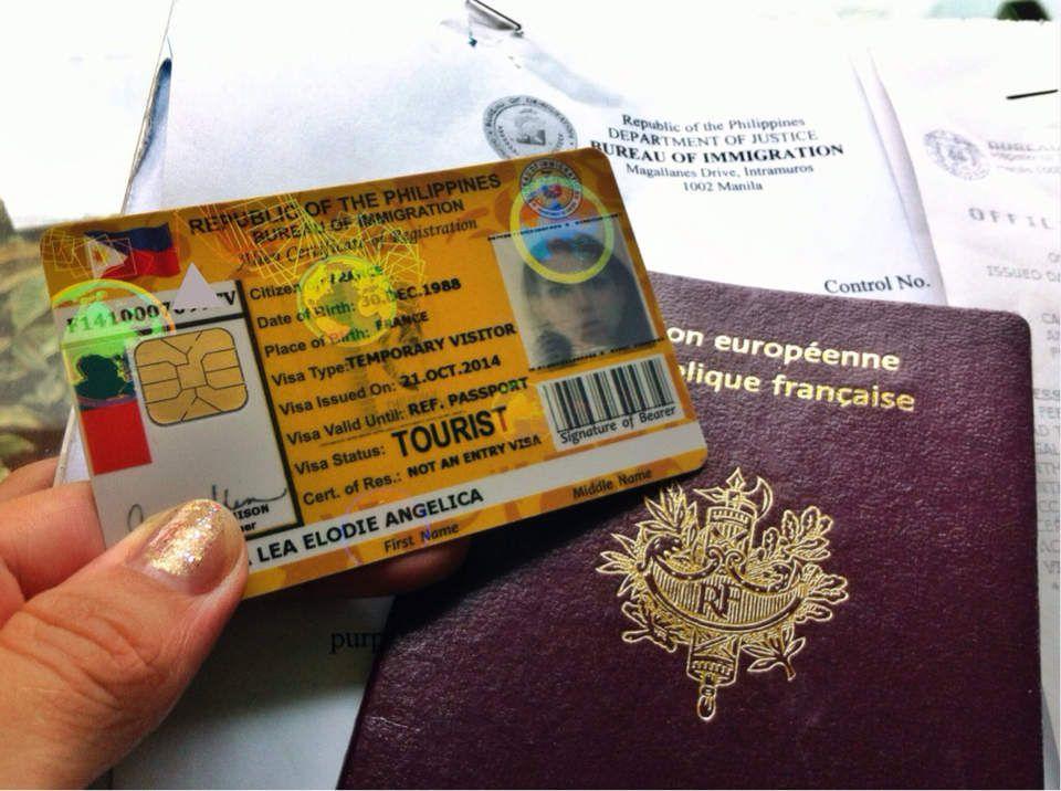 Ça y est ... Je suis FICHÉE ! J'ai maintenant ma ID Card filipino de touriste.