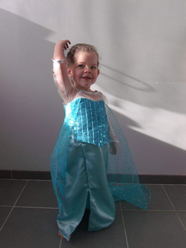 Costume La reine des neiges