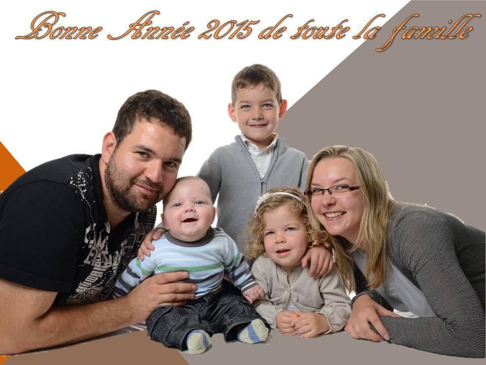 Bonne année 2015 et une grande nouvelle pour ce début d'année