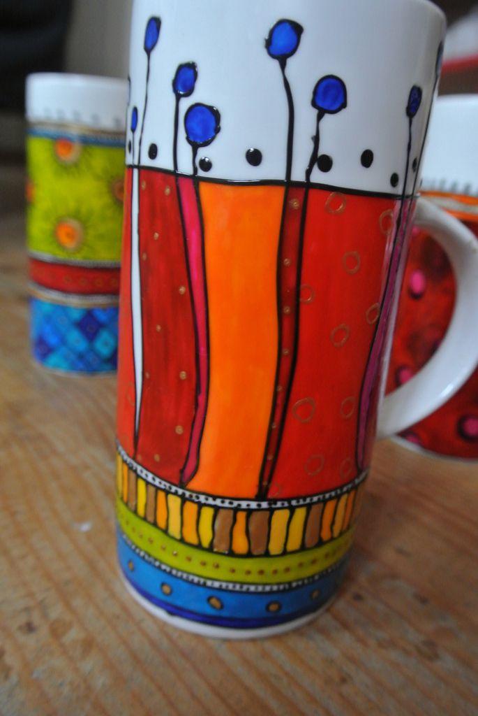 Les mugs - fleurs