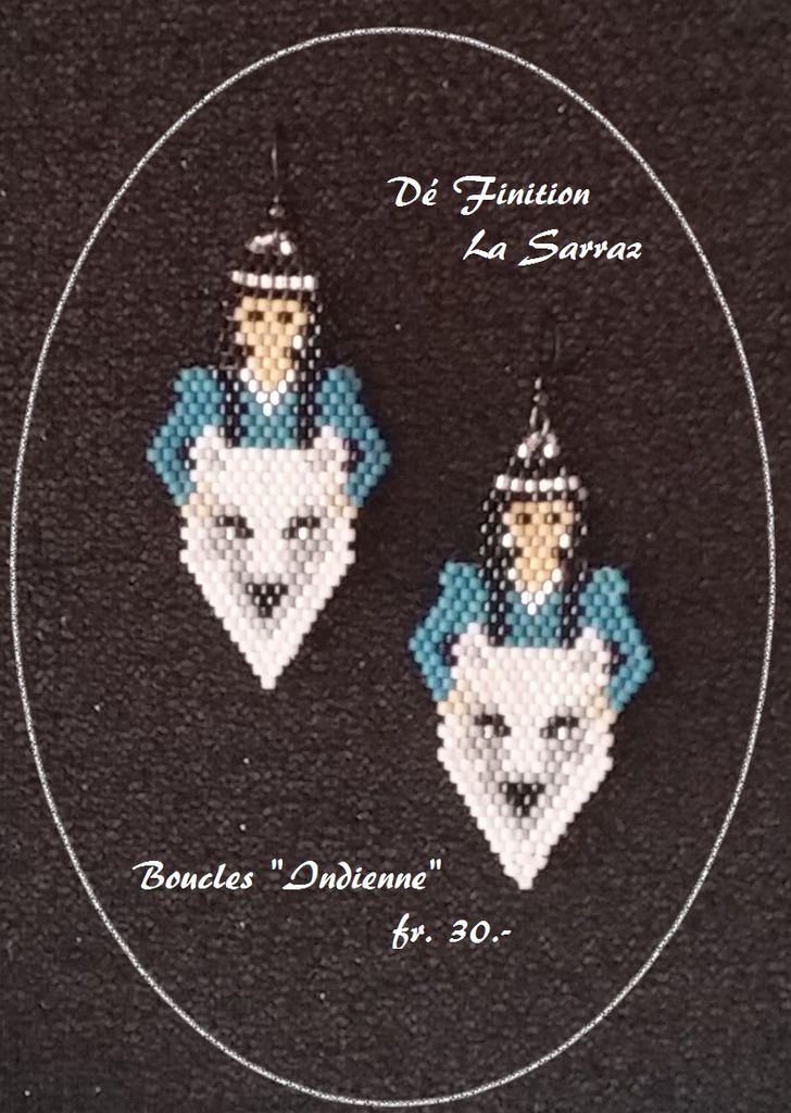 Boucles d'oreilles et pendentifs