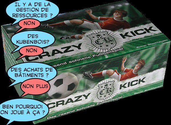 Crazy Kick : Allez les (meeples) bleus !