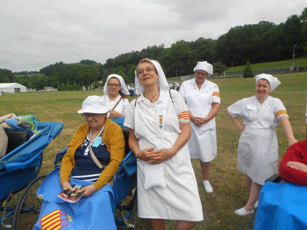 Le pèlerinage 2015 vue par Anne-Marie