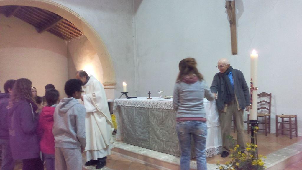 Père Louis à Notre Dame de la Miséricorde