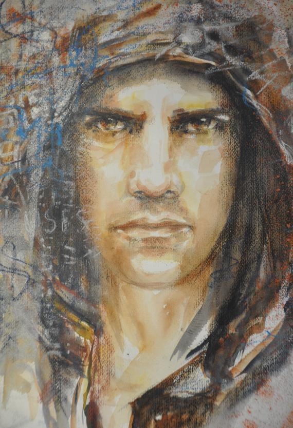 """Portrait"" d'Anne-Marie Soriano"
