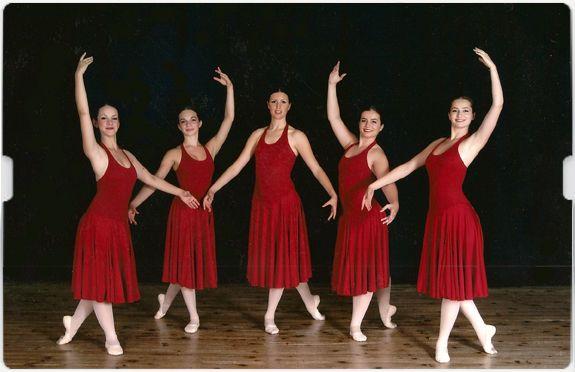 Les danseuses  d'Angela Berger sont primées chaque année dans les concours nationaux