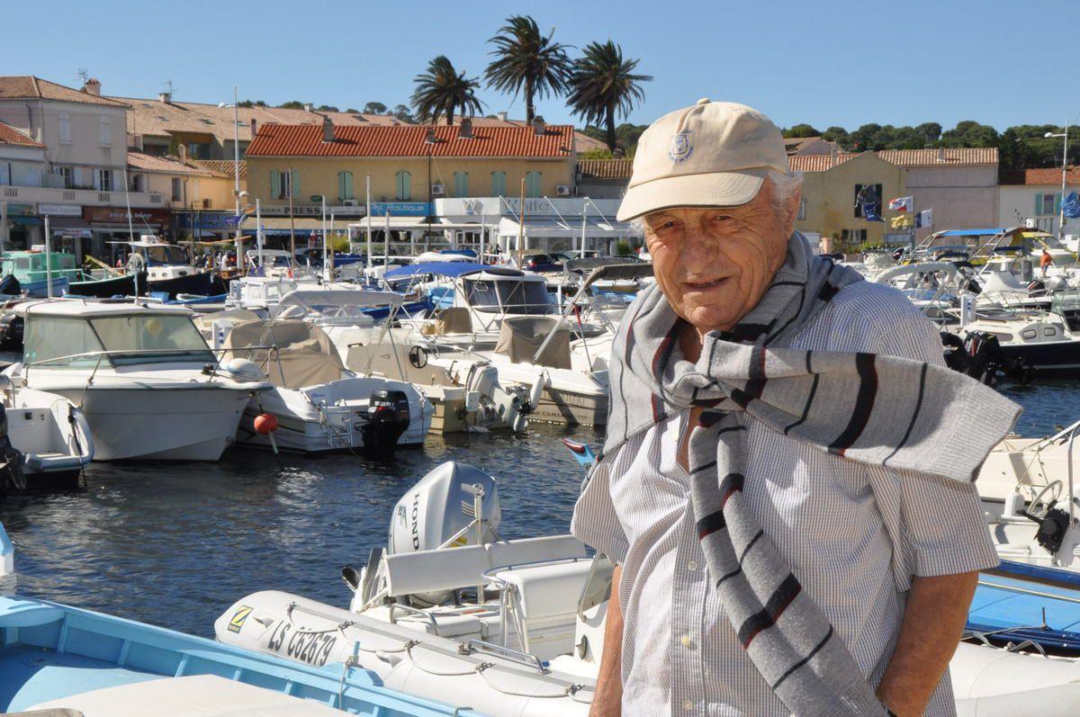 Albert Laure, ancien responsable de la Prud'homie et du Musée de la pêche