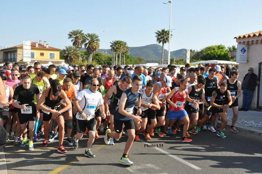 330 participants au 1er semi marathon de Six-Fours
