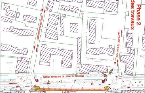 L'avenue de Lattre de Tassigny sera en travaux à compter du mardi 9 février