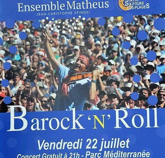 """Concert (gratuit) Barock """"N"""" Roll suivi d'un feu d'artifice"""