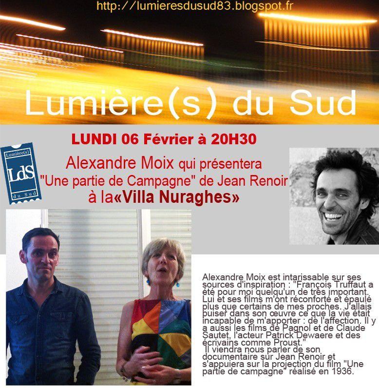 Six-Fours/Cinéma/Vie Associative : Lundi 6 Février, l'Association Lumière(s) du Sud présente &quot&#x3B;Une Partie de Campagne&quot&#x3B;
