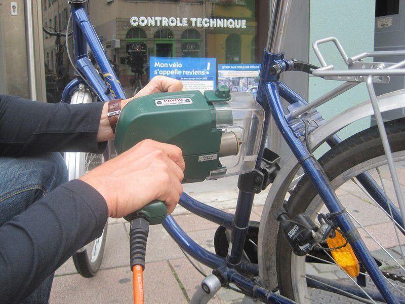 Six-Fours/Actualité : Samedi 18 février, Opération Gravage des Vélos
