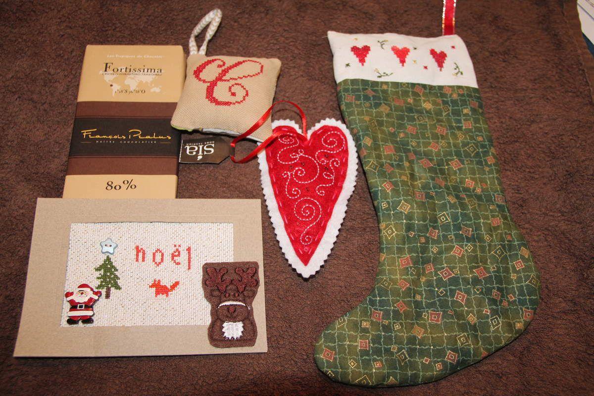 Envoi de Cadeaux à Christine 31 ..