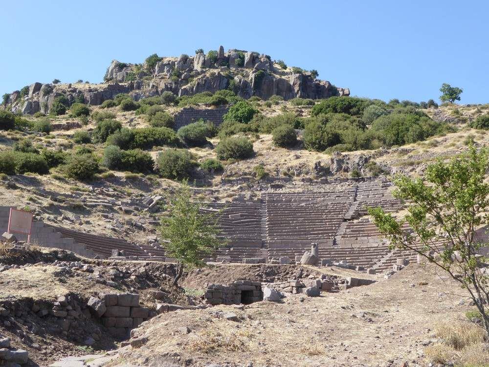 eden roc 1 et 2   Théatre temple d'Atena
