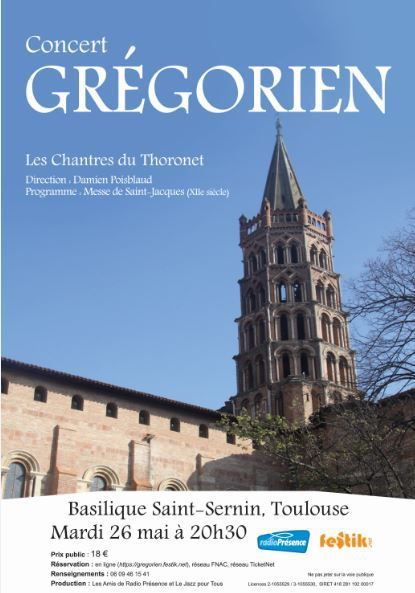 Concert chants Grégorien