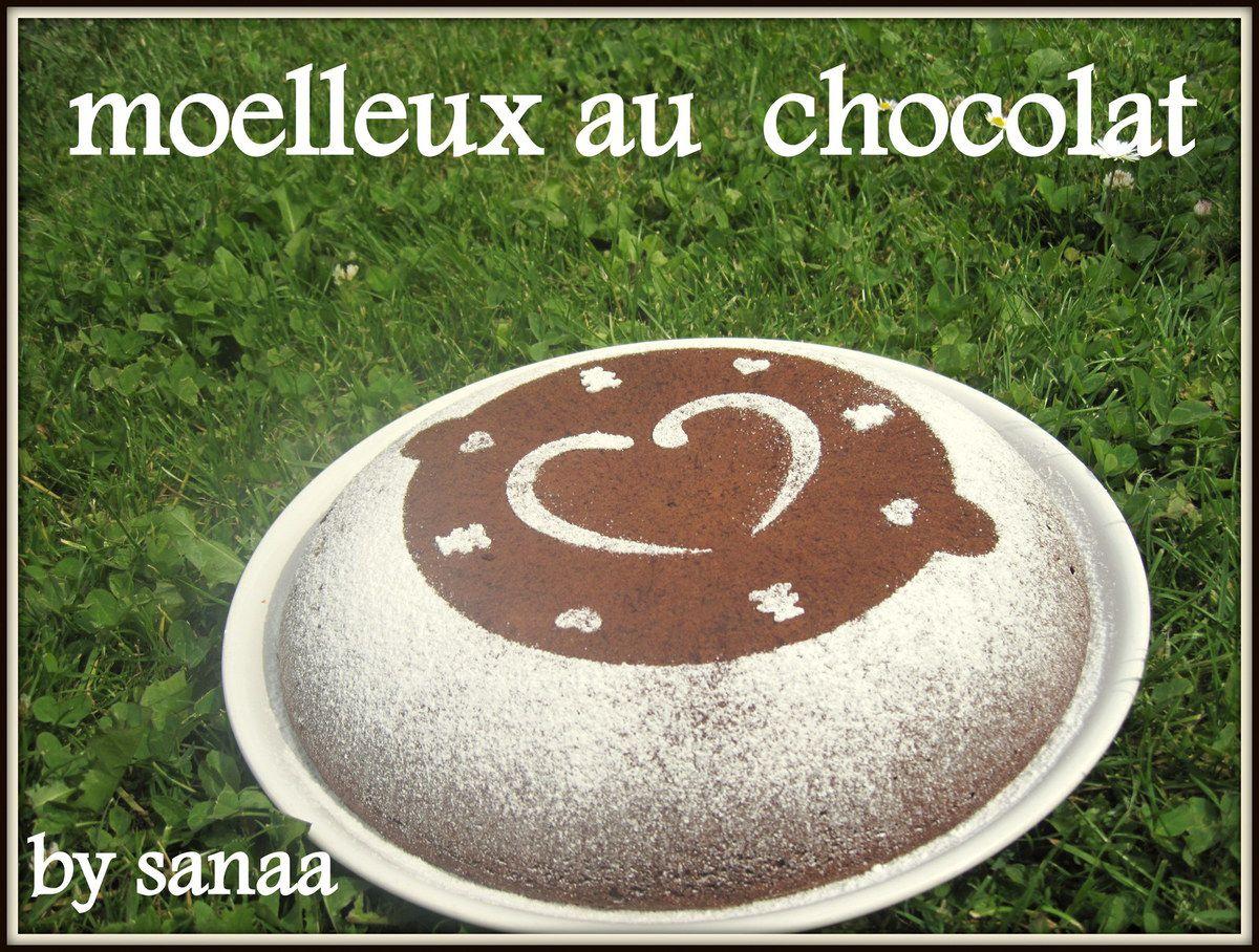 Gâteau moelleux au blancs d'oeufs et chocolat