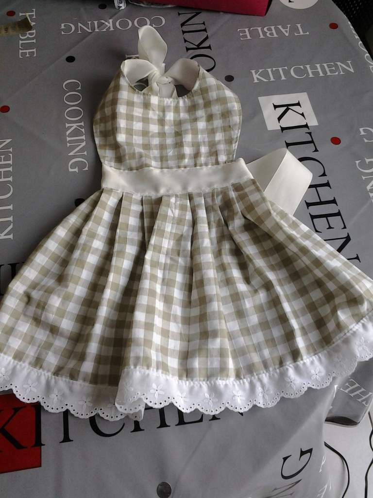 robe printanière pour chien .
