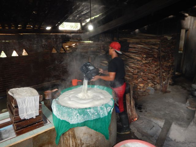 La fabrication du Tofu