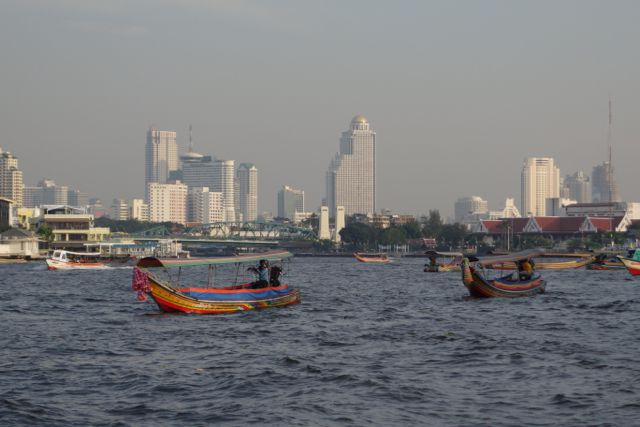 Depuis le Chao Praya
