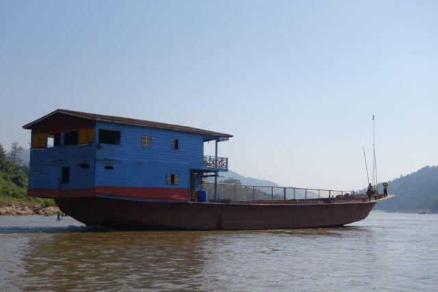 2 jours sur le Mékong de Houay Xai à Luang Prabang