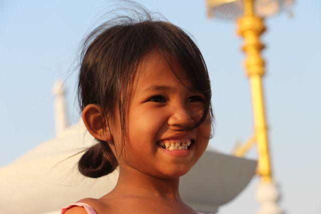 Sur la route de Battambang à Phnom Penh…