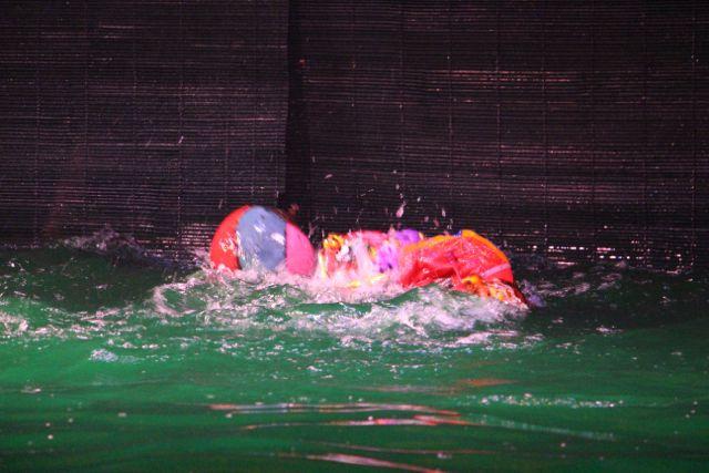 Les marionnettes sur l'eau