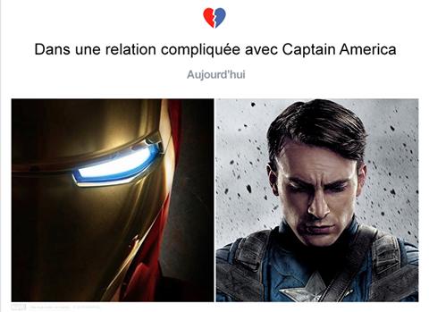 La relation compliquée entre Iron-man &amp&#x3B; Captain America