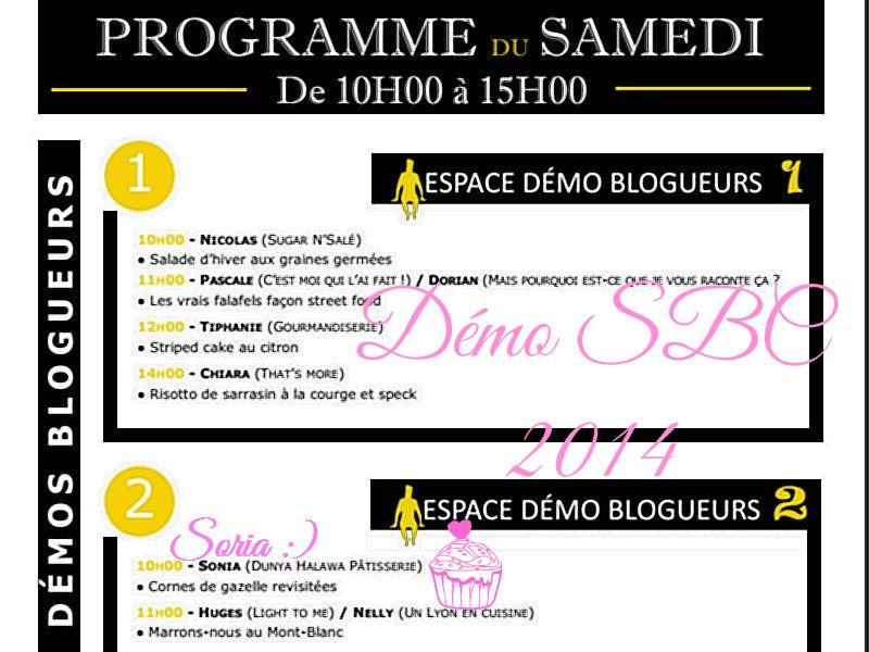 Salon du Blog Culinaire à Soissons :)