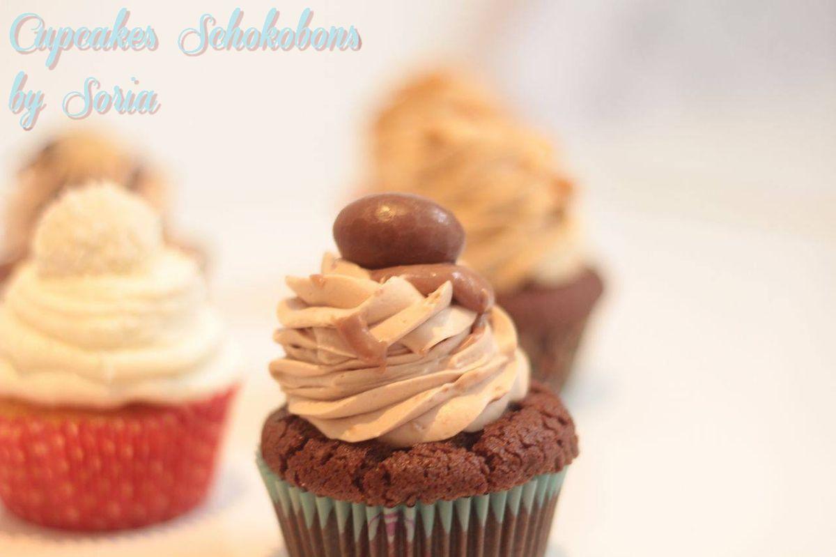 Cupcake Ganache Schokobons