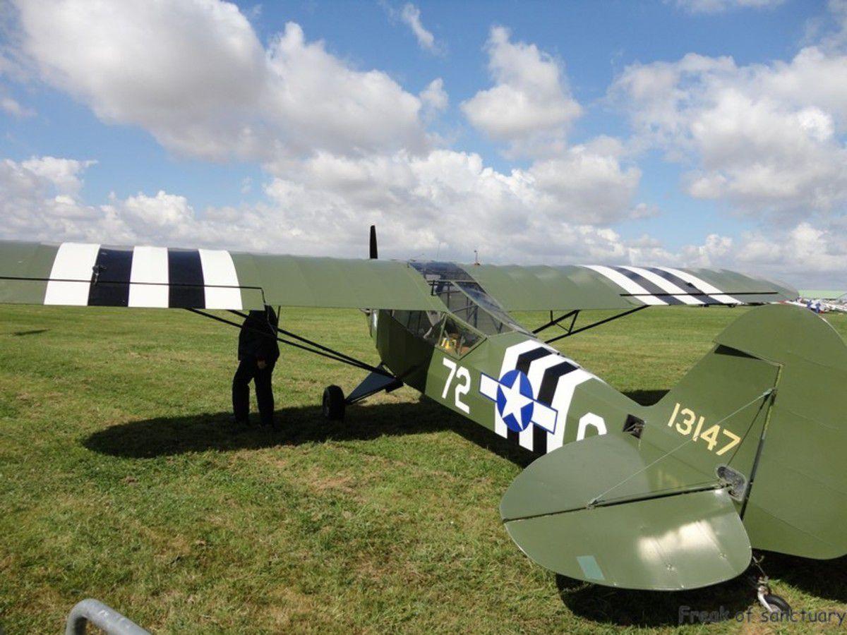 Le Piper J-3 ou Piper Cub