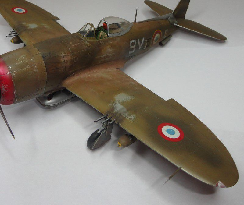 Republic P-47D Thunderbolt - Tamiya - 1/48