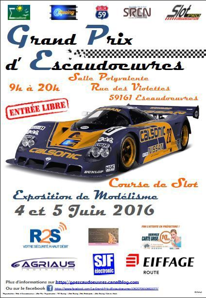 GRAND PRIX D'ESCAUDOEUVRES