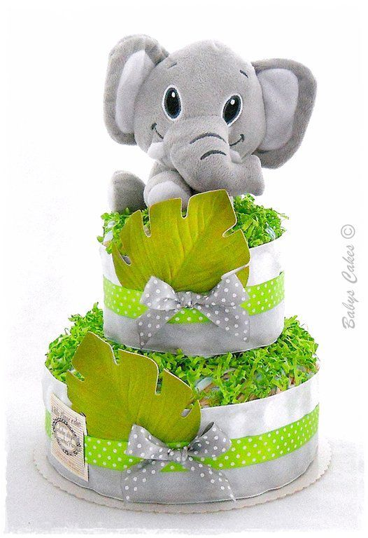 Gateau de couches Little Elmer cake
