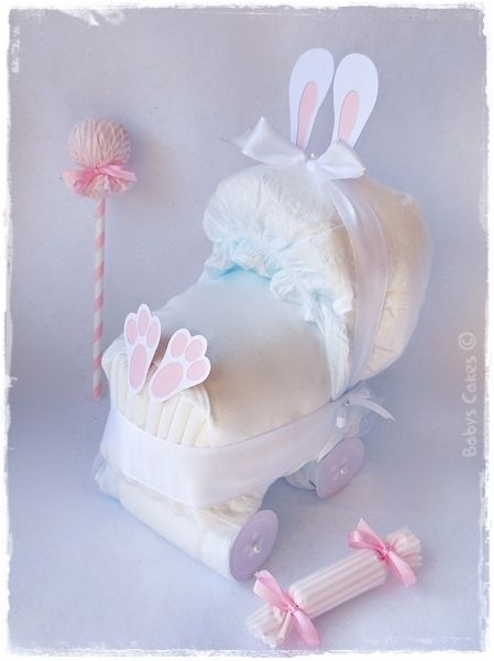 Cadeau mini landau de Pâques
