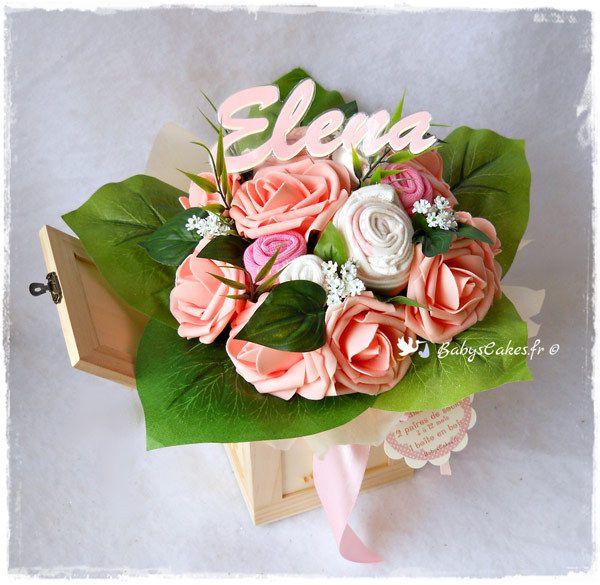 Bouquet de layette naissance