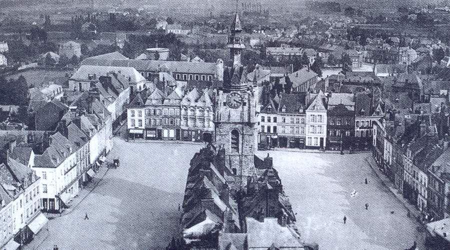 Le quartier du beffroi le plus peuplé en 1872