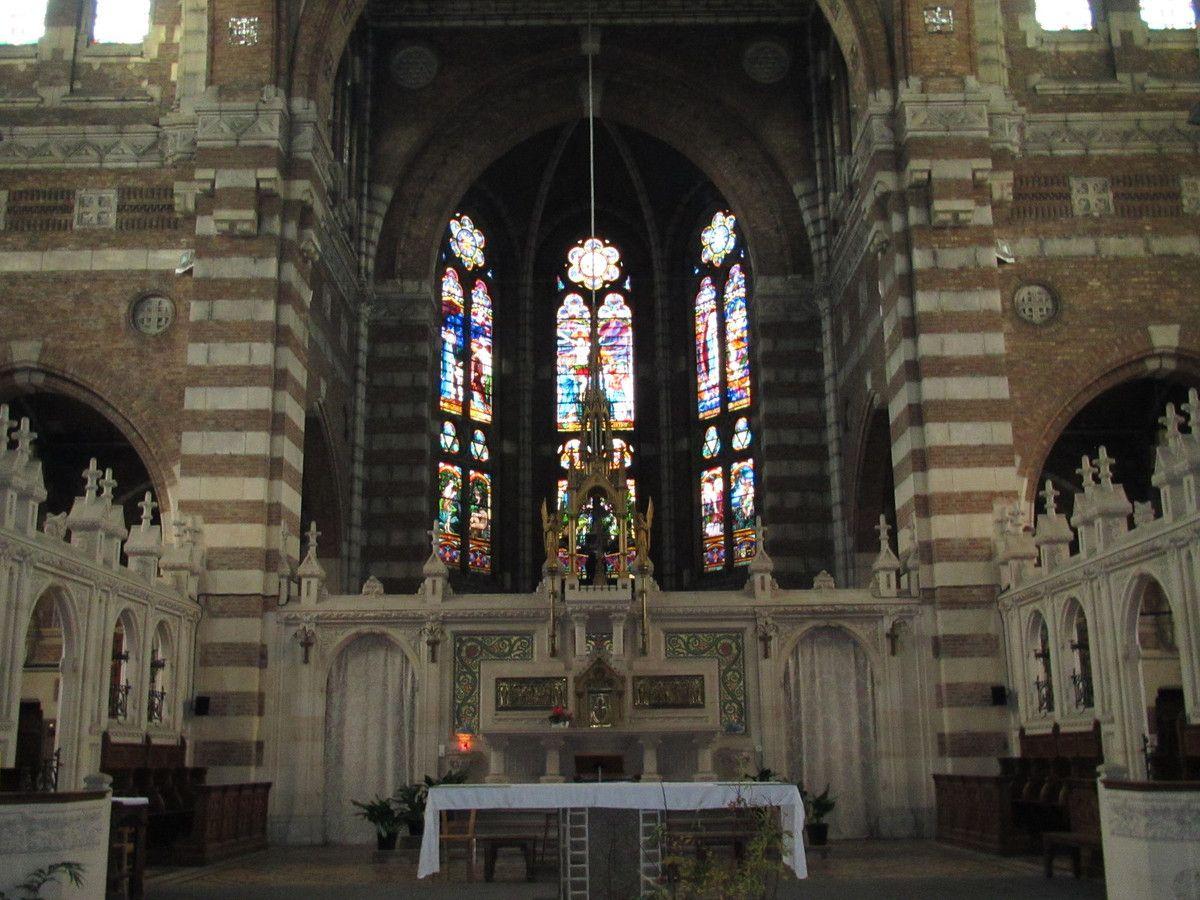 le mobilier fait la beauté de l'église