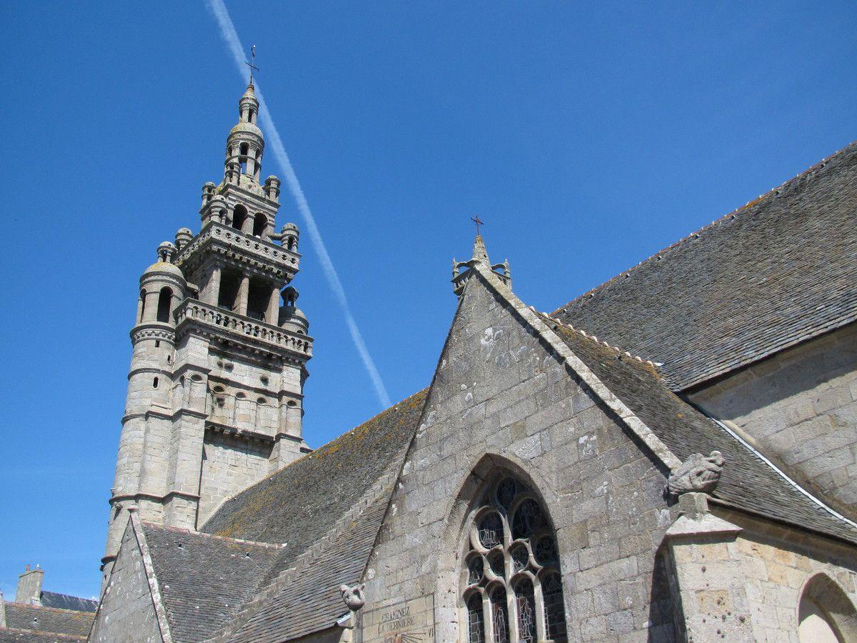 L'église Notre Dame de Croas Batz située à quelques mètres de la mer