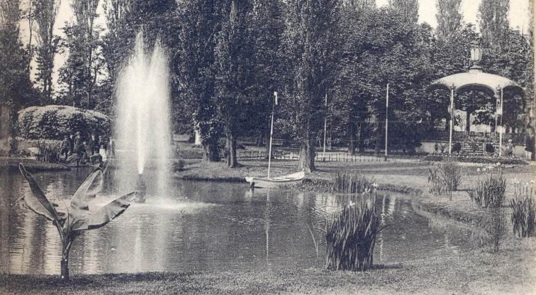 1876 ces canalisations indispensables au jardin public