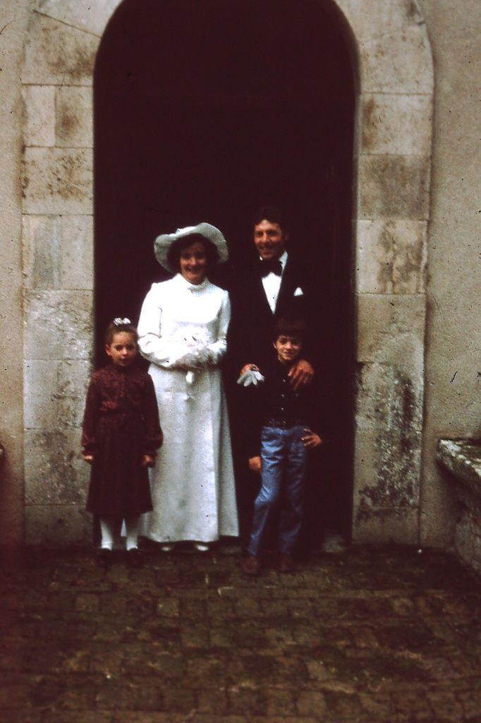 Mariage champêtre à Hautot sur Seine (années 70)