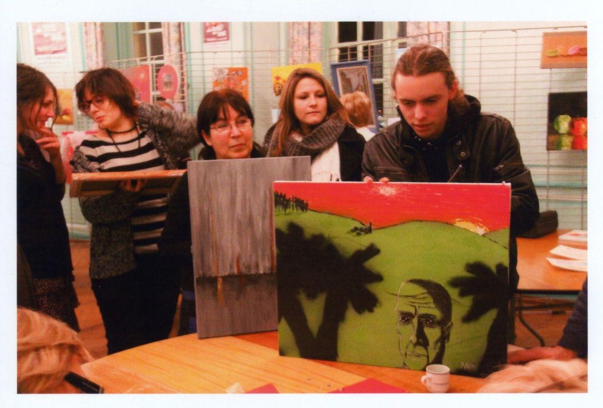 Téléthon 2008 &amp&#x3B; 2009 : la nuit des peintres