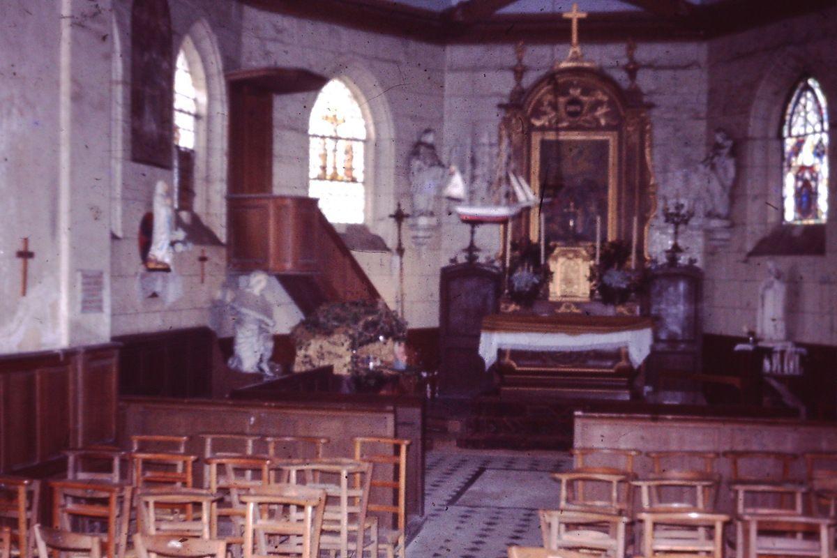 Chapelle d'Hautot sur Seine : le voilier de Moïse Obselin