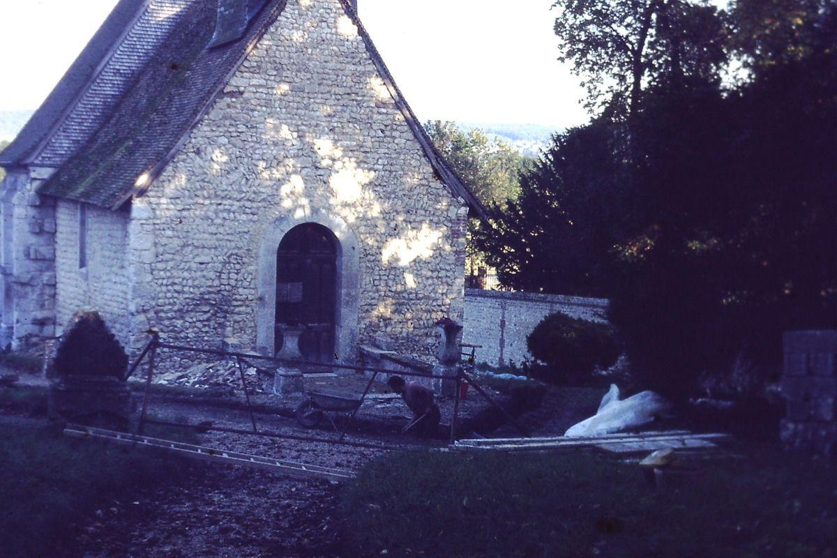 La rénovation de la chapelle de 1961