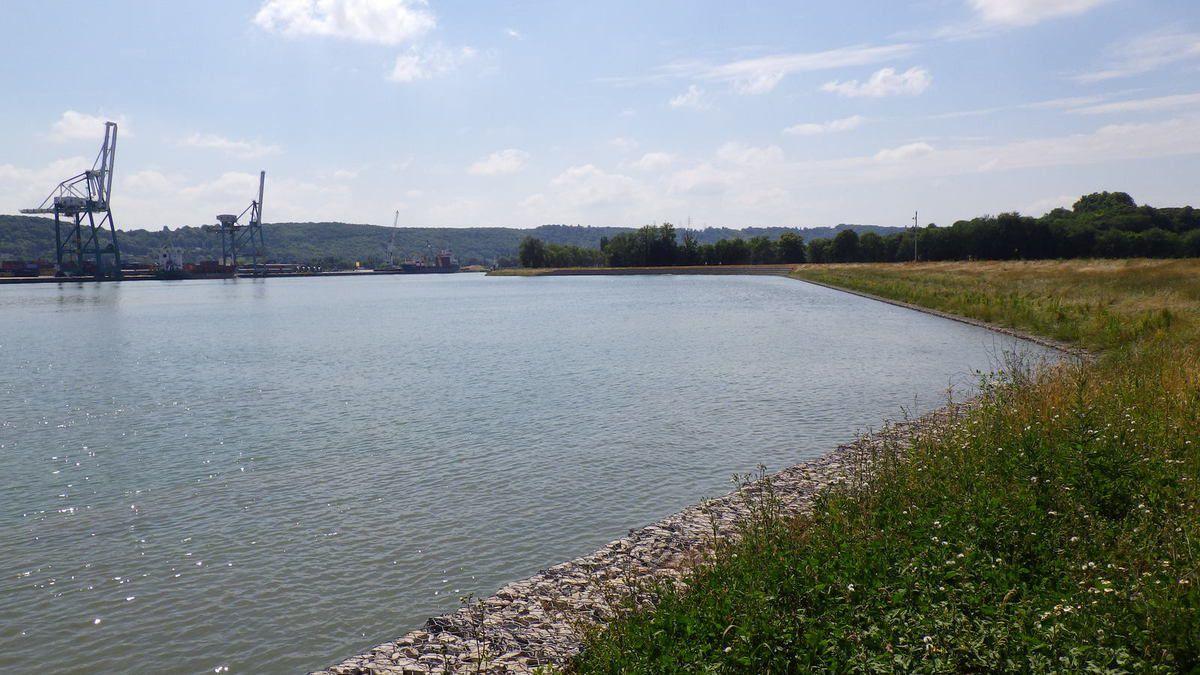 La nouvelle zone d'évitage d'Hautot sur Seine