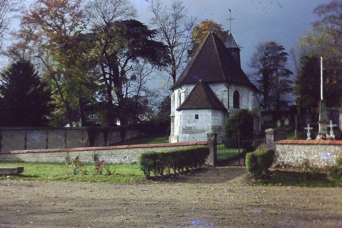 Photographies des années 60 &amp&#x3B; 70 de la chapelle d'Hautot sur Seine