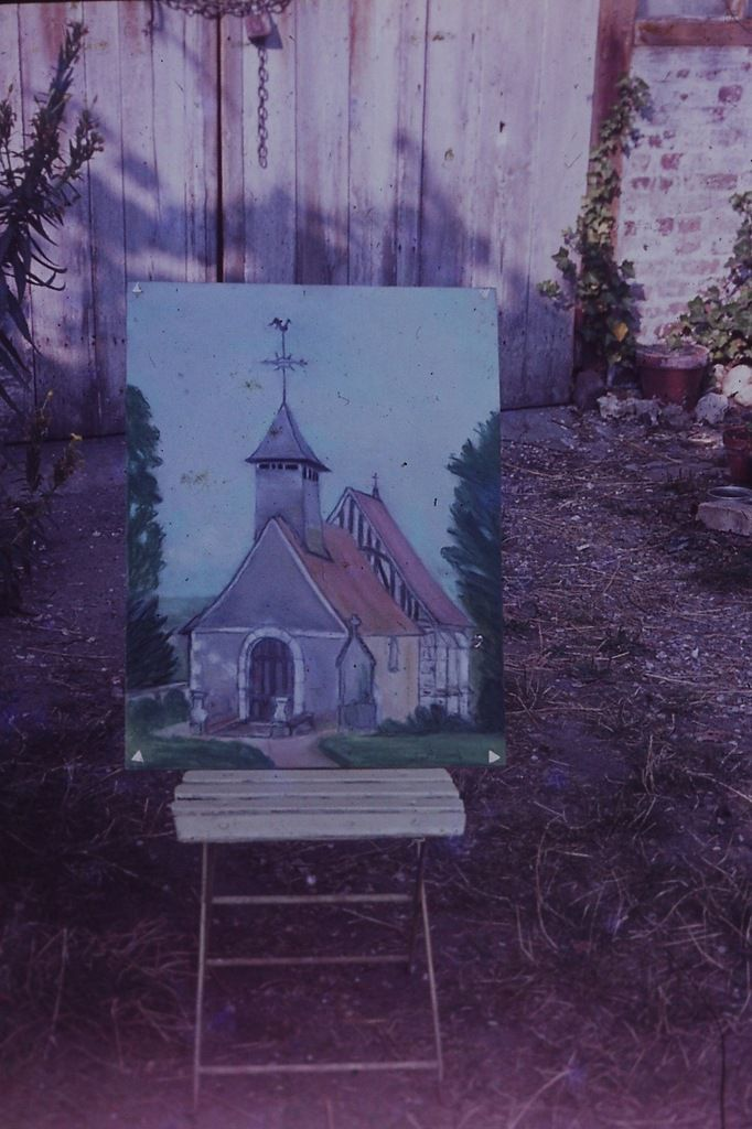 LA CHAPELLE EN 1960 AVANT SA RESTAURATION