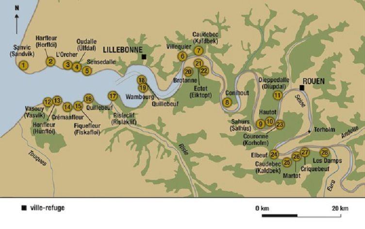 L'établissement viking d'Hautot sur Seine