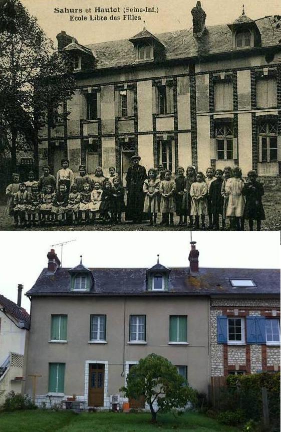 Les écoliers d'Hautot sur Seine vers 1911