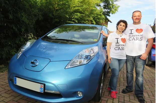One day with an electric car