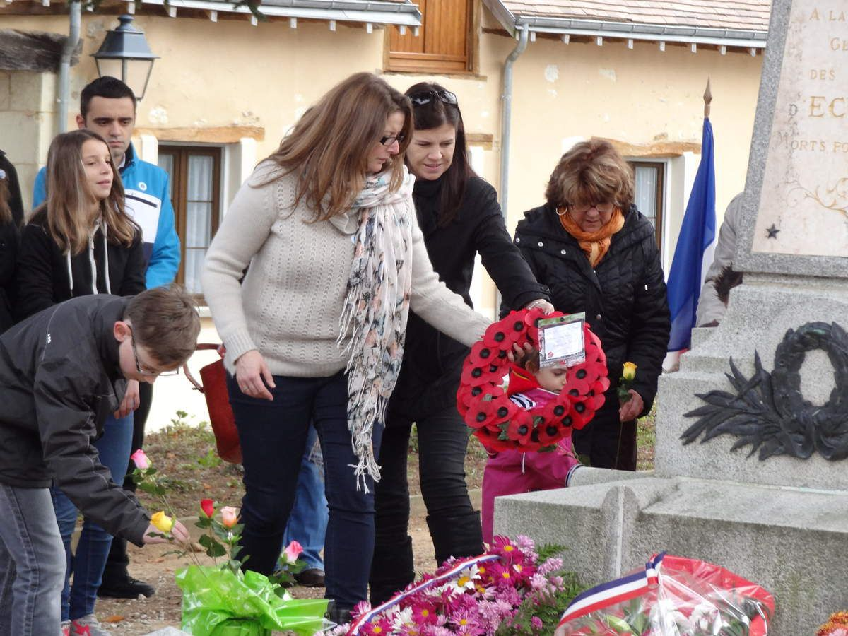 On Tuesday November 11th 2014, ceremony celebrating the end of the First World War.